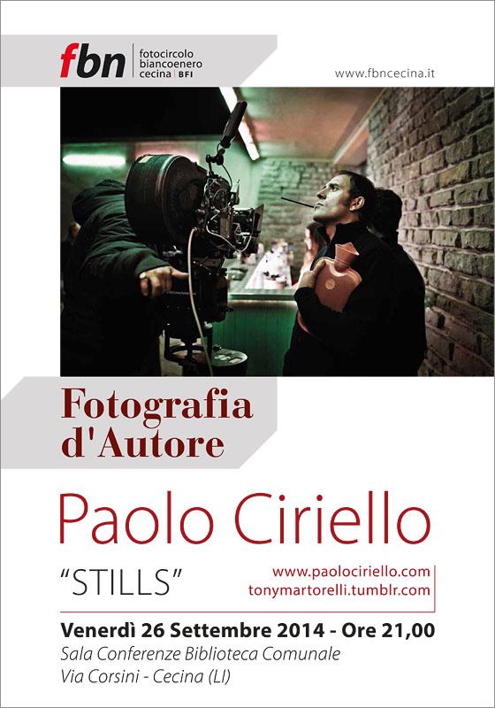 Fotocircolo Fbn Locandina Ciriello